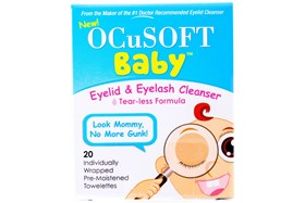 Ocusoft Baby Tearless Eyelid and Eyelash Cleanser