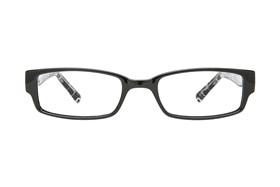 72a0e8c3fa5 Discount TapouT Black Glasses Frames with Prescription Lenses
