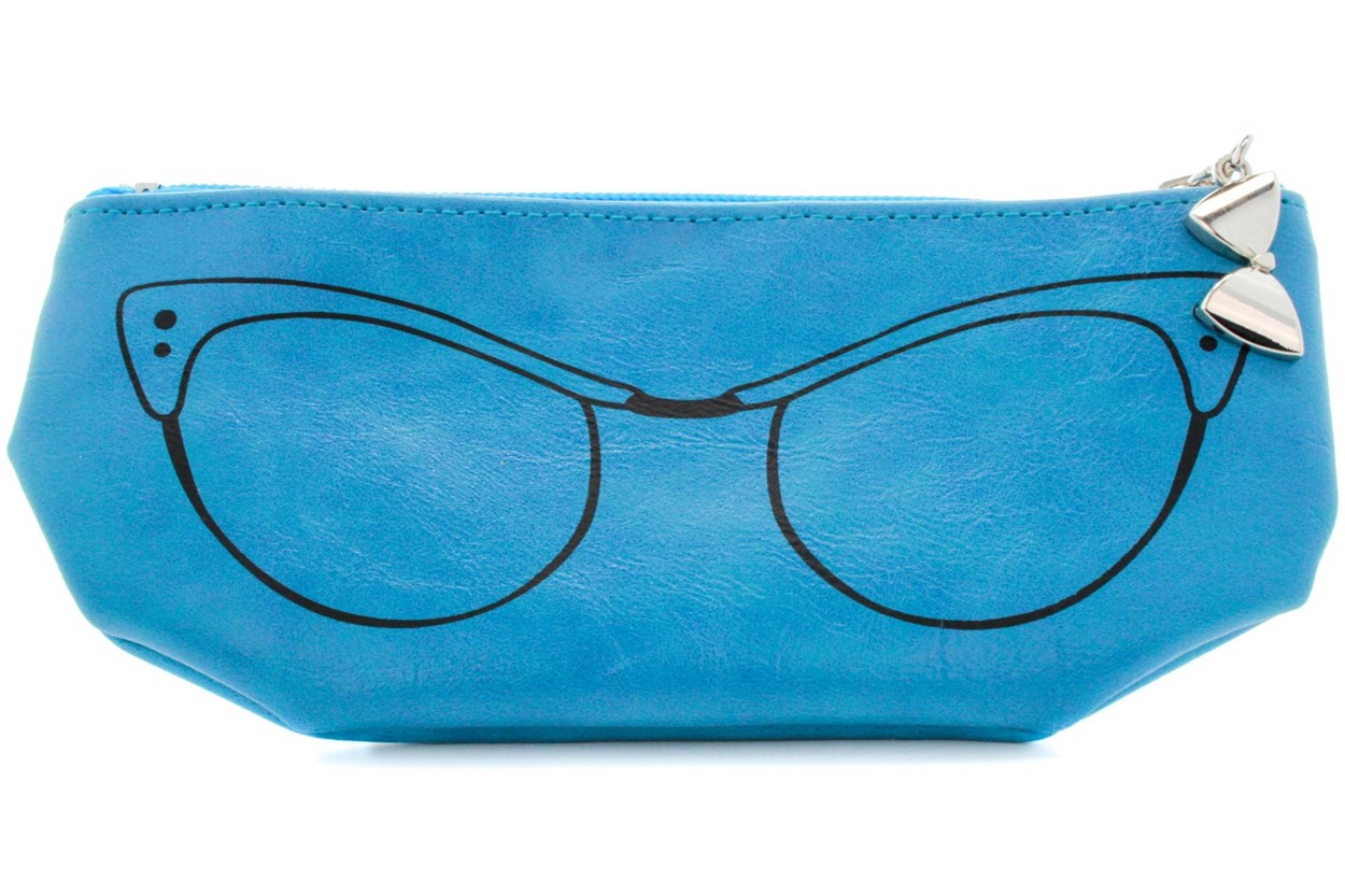 Corinne McCormack Teal Cat Eye Soft Case 50 - Turquoise