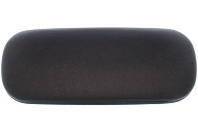 Amcon Protective Clam Eyeglasses Case Black Black