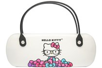 Hello Kitty Clamshell Eyeglass Case