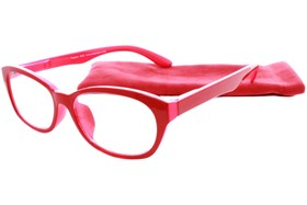 Peepers Good Morning Charlie Reading Glasses Red