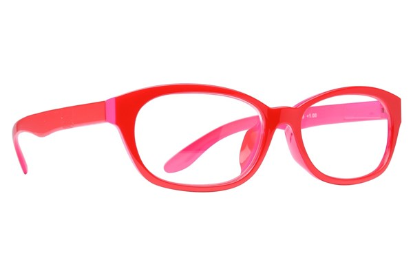 Peepers Good Morning Charlie Reading Glasses ReadingGlasses - Red