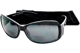 Peepers Your Limo is Waiting Sun Reading Glasses Black