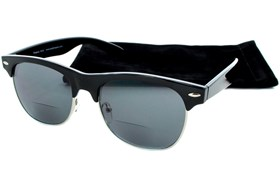 Peepers Havana Mens Bifocal Sun Reading Glasses Black