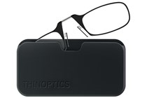 ThinOPTICS Reading Glasses with Universal Pod Case Bundle