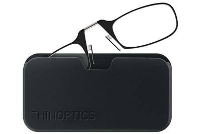 6d7f943ee481 ThinOPTICS Reading Glasses with Universal Pod Case Bundle Black