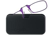 ThinOPTICS Reading Glasses with Universal Pod Case Bundle