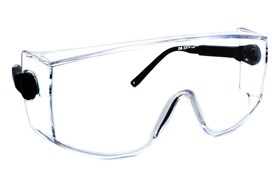 Amcon Coveralls Over the Glass Safety Eyewear Clear