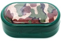 Amcon Camouflage Designer Contact Lens Case