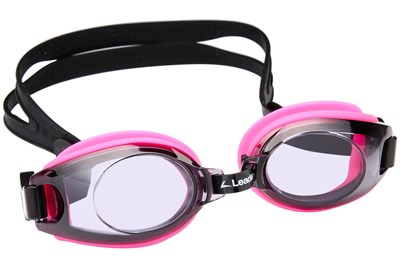 Hilco (Z Leader) Children's Prescription Swimming Goggles Pink