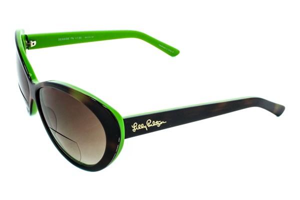 b151ec68e1392 Double-click image to zoom. Tortoise Prep Green Laminate. Tortoise Prep  Green LaminateLilly Pulitzer Seaside Womens Sun Reading Glasses