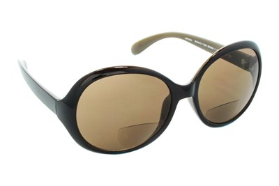 CalOptix Bon Voyage Reading Sunglasses Brown