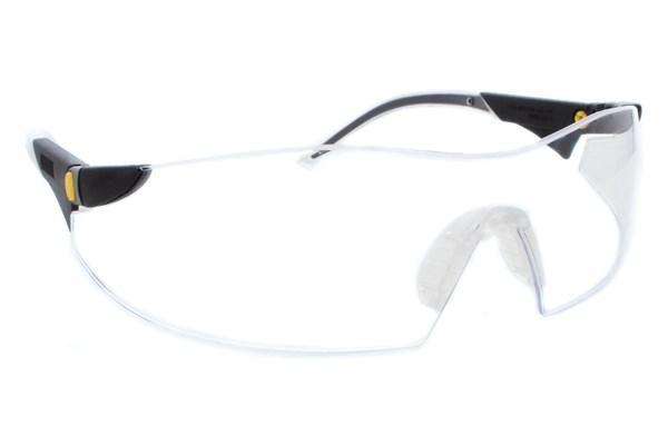 CAT Dozer Safety Glasses ProtectiveEyewear - Clear