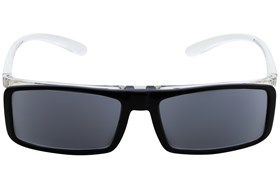I Heart Eyewear Flip-Up Sun Readers Black