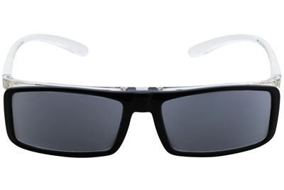 I Heart Eyewear Flip-Up Reading Sunglasses Black