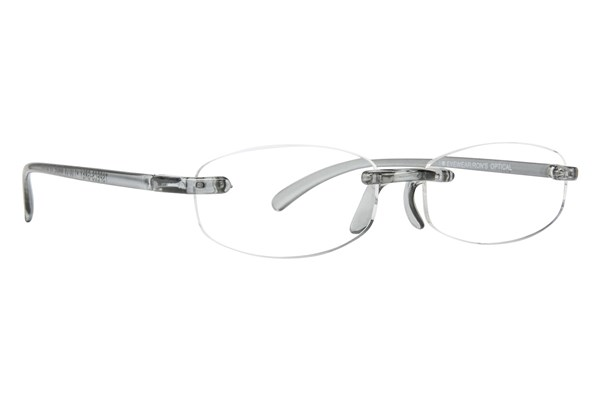 I Heart Eyewear Twisted Specs ReadingGlasses - Gray