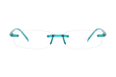 I Heart Eyewear Twisted Specs Turquoise