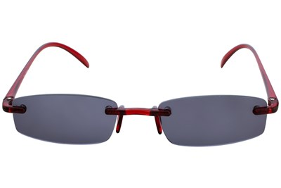 I Heart Eyewear Twisted Sun Specs Red