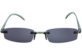 I Heart Eyewear Twisted Sun Specs Gray