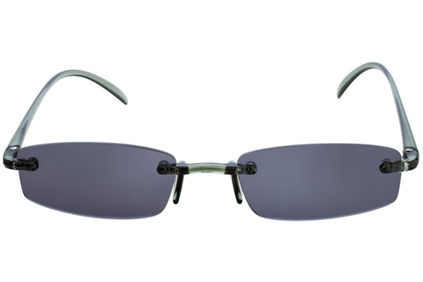 I Heart Eyewear Twisted Sun Specs ReadingGlasses - Gray