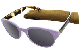 Peepers Fancy Voyage Bifocal Sun Reading Glasses Purple