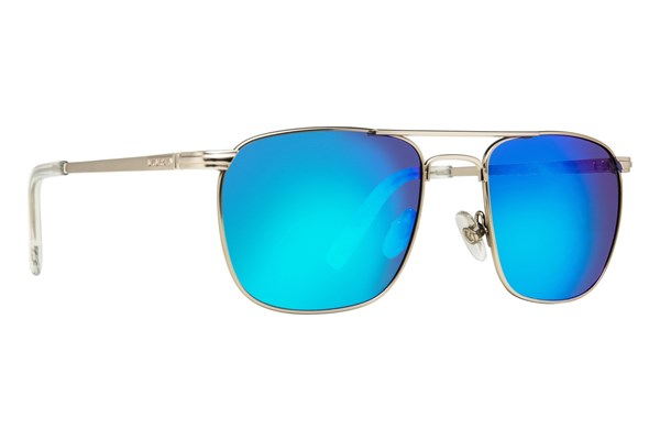 Anarchy Hundo Polarized Mirror Sunglasses - Silver