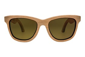 Parkman Sunglasses Bombay Wood Red