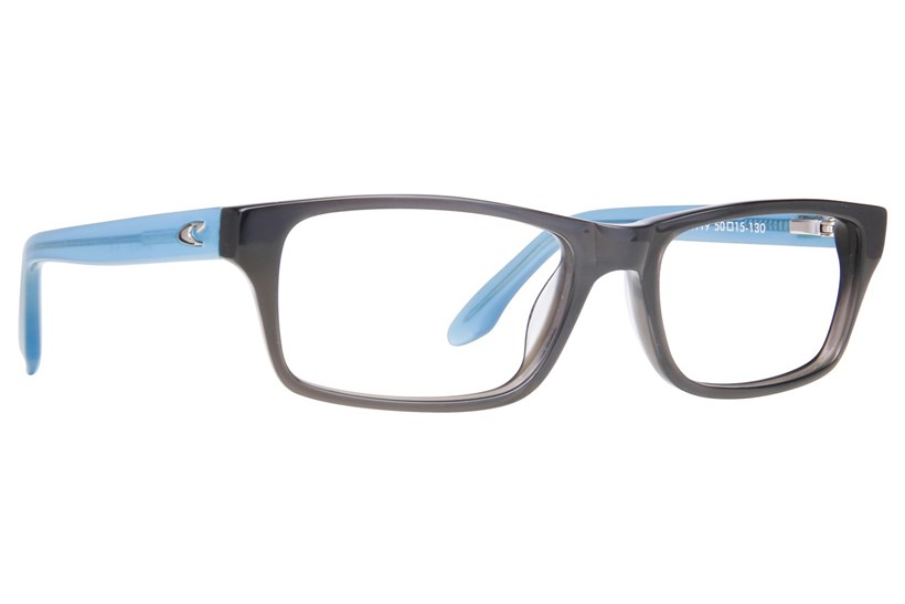 Glass Smoke Black/Gloss Light Blue