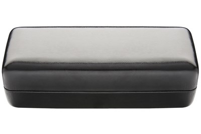 CalOptix Eyeglass/Contact Lens Combo Case Black