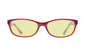Lunettos Samantha Computer Glasses Red