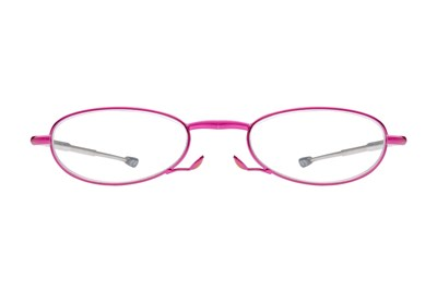Foster Grant Gideon Glimmer Microvision Reading Glasses Purple