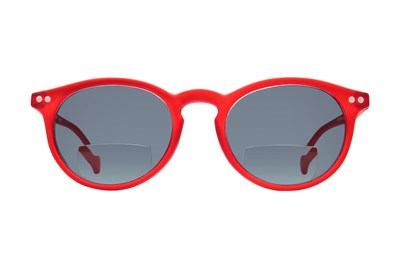 Peepers First Light Bifocal Reading Sunglasses Red