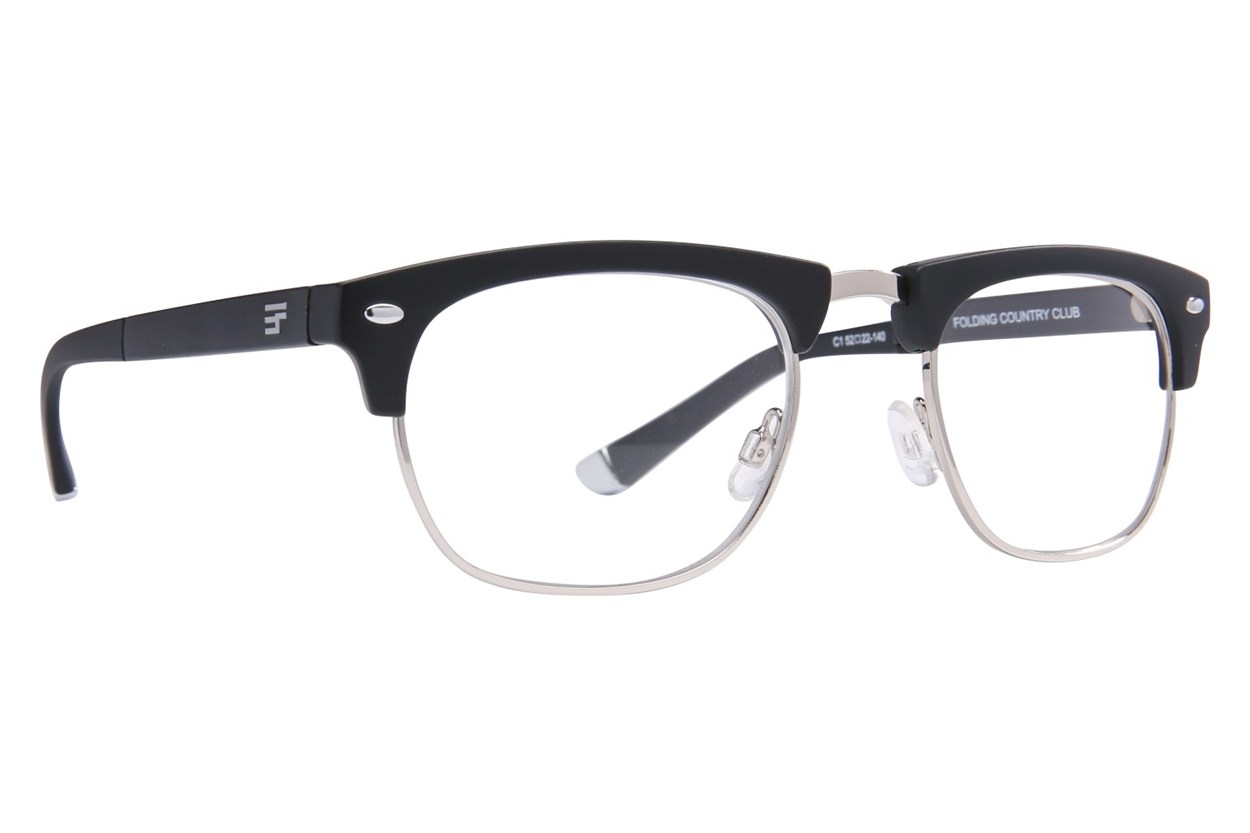 Eyefolds The Country Club Reader ReadingGlasses - Black