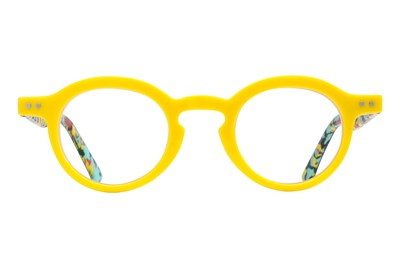 allo Namaste Reading Glasses Yellow