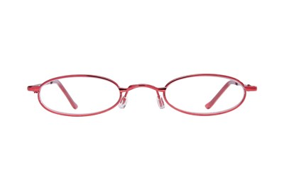 I Heart Eyewear Tube Reading Glasses Red