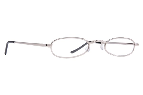 I Heart Eyewear Tube Reading Glasses ReadingGlasses - Silver