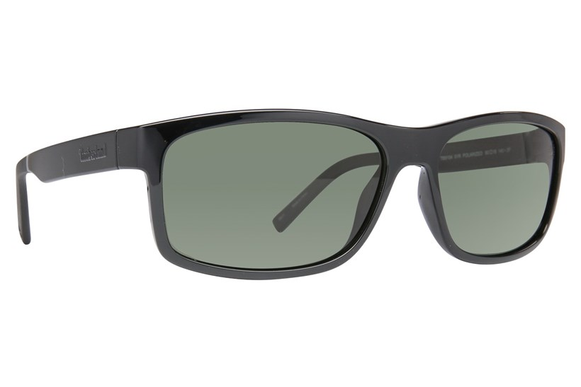 Shiny Black/Green Polarized
