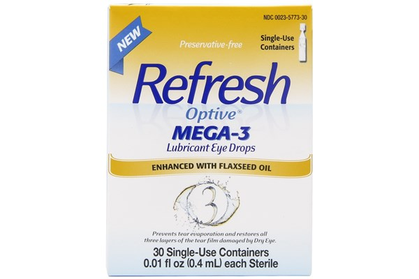 Refresh Optive Mega-3 Eye Drops (.4 ml) DryRedEyeTreatments
