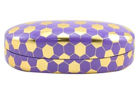 Evolutioneyes Metallic Honeycomb Sun Case Purple