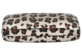 Evolutioneyes Leopard Eyeglass Case