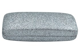 Evolutioneyes Mega Glitter Eyeglass Case Gray