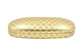 Evolutioneyes Polka-Dot Eyeglass Case Gold