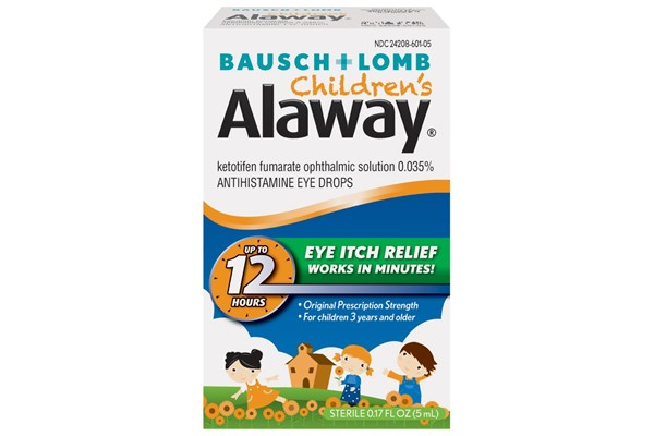Bausch and Lomb Children's Alaway Eye Drops (0.17 fl oz) DryRedEyeTreatments