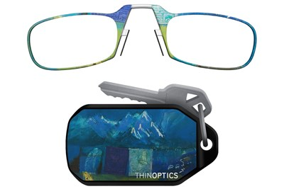 ThinOPTICS Keychain Case & Readers - Design Multi