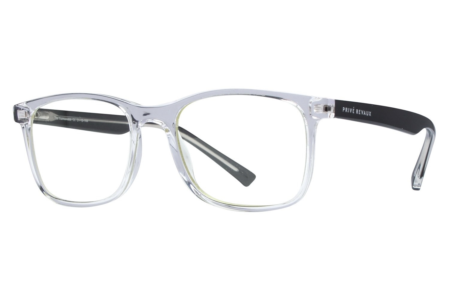 Prive Revaux The Maimonides Glasses- Clear