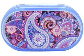 Amcon Paisley Graphic Compact Case