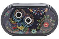 Click to swap image to Amcon Owl Graphic Compact Case