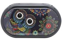 Amcon Owl Graphic Compact Case