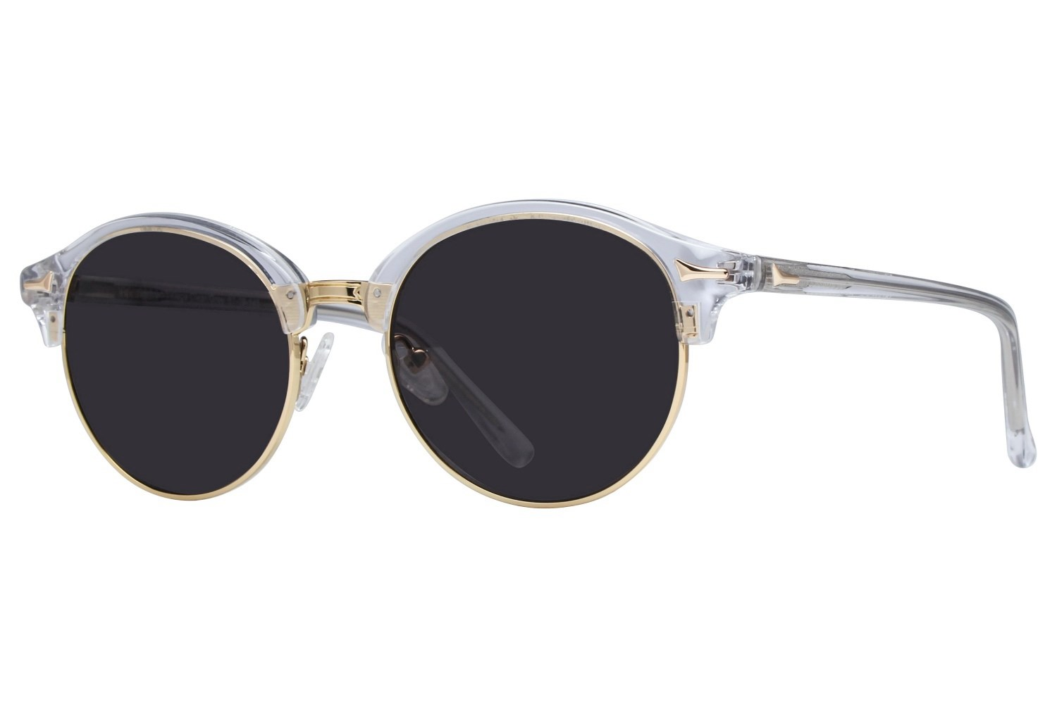 Westend German Village Clear Sunglasses